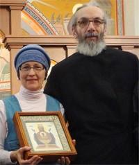 Fr. Christophe Lepoutre<br> & Matushka Syncletiki (Cynthia)